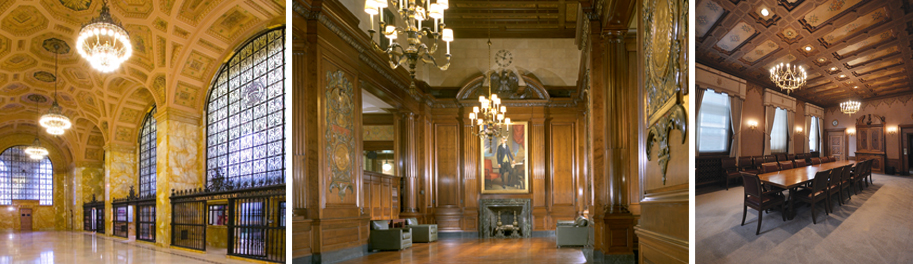 The current interior of the Cleveland Fed