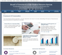 Federal Reserve Board website