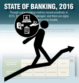 State of Banking, 2016 Infographic