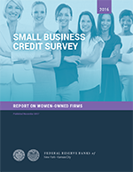 2016 Small Business Credit Survey: Report on Women-owned firms