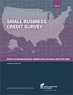 2016 Small Business Credit Survey: Report on Microbusinesses: Nonemployer and Small Employer Firms