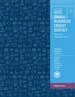 2015 Small Business Credit Survey: Report on Employer Firms