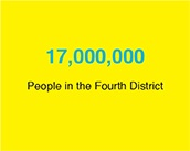 17,000,000: People in the Fourth District