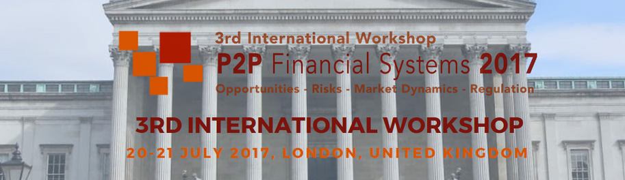 2017 P2P Financial Systems International Workshop (London)