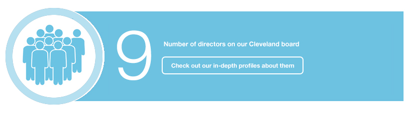 9 number of directors on our cleveland board