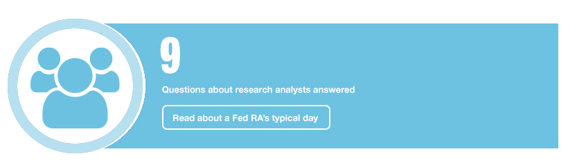 9: Questions about research analysts answered