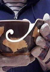 Ginkgo bowl by Jonathan Dazo, a potter in Berea, Kentucky. Courtesy of Jonathan Dazo