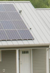 Southern Tier Housing has built 18 energy-efficient solar houses in recent years. Credit: Michelle Park Lazette