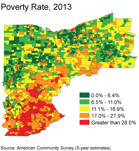 Poverty Rate, 2013
