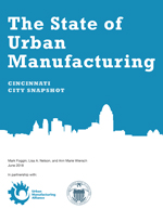The State of Urban Manufacturing: Cincinnati City Snapshot