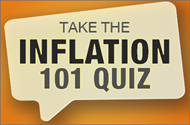 Take the Inflation 101 Quiz