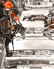Year-to-date auto production through August at District assembly plants declined about 18 percent.