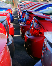 Year-to-date unit sales through August of new motor vehicles rose almost 3 percent compared to those of a year ago.